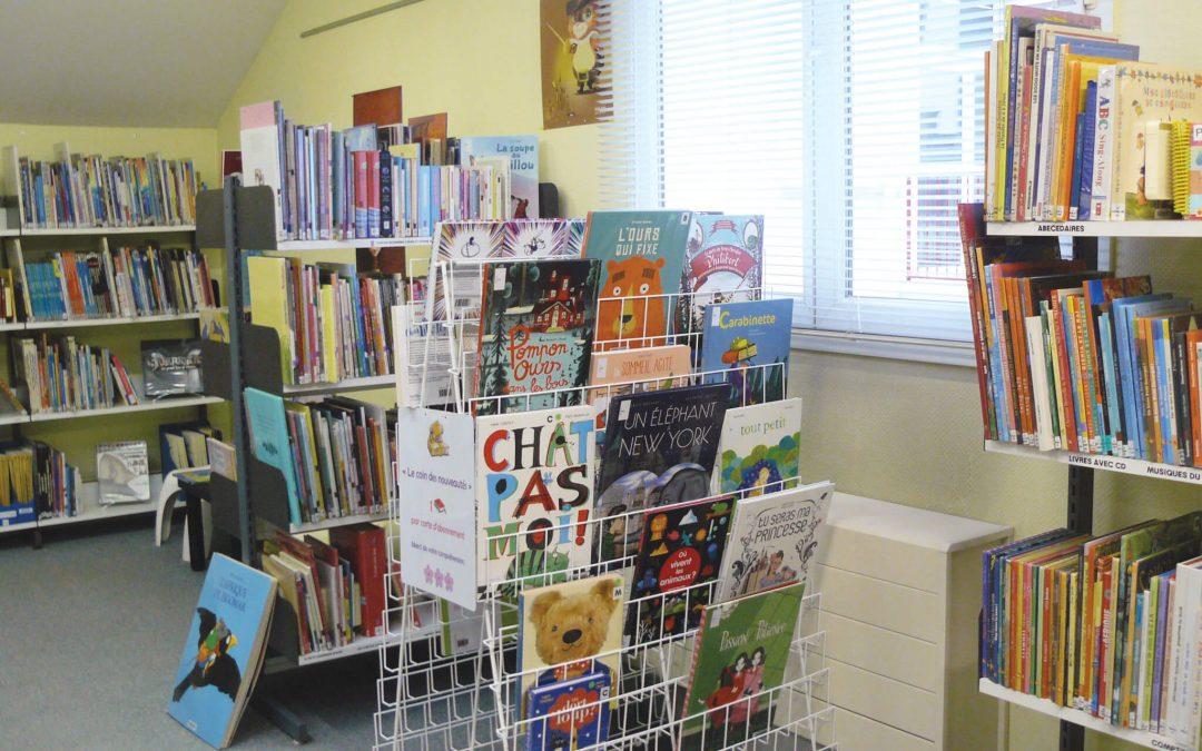 Portage de livres à domicile, service proposé par la médiathèque de Fourchambault