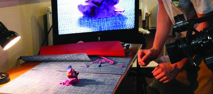 Atelier créatif « création d'un film d'animation en stop-motion »
