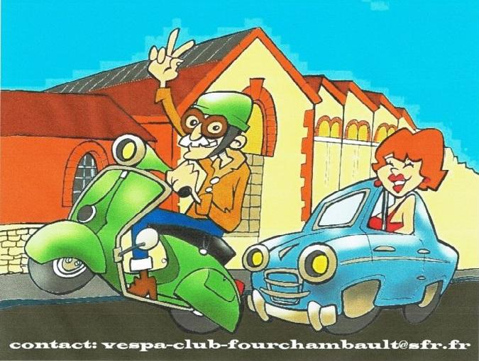 « Les Années Vespa » du Vespa Club de Fourchambault