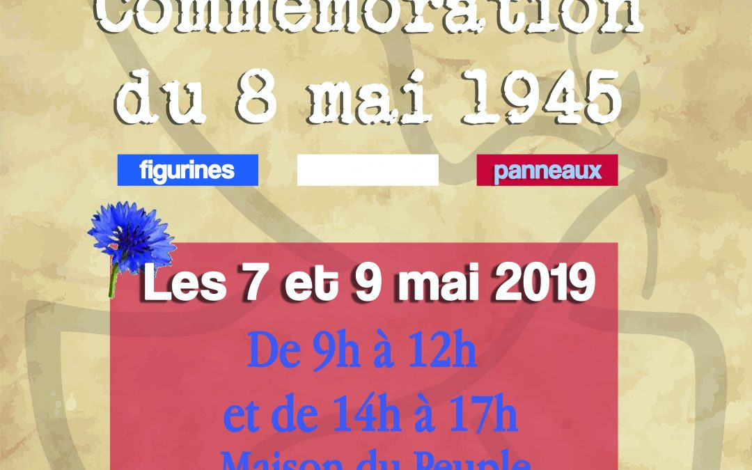 Exposition sur la commémoration du 8 mai 1945