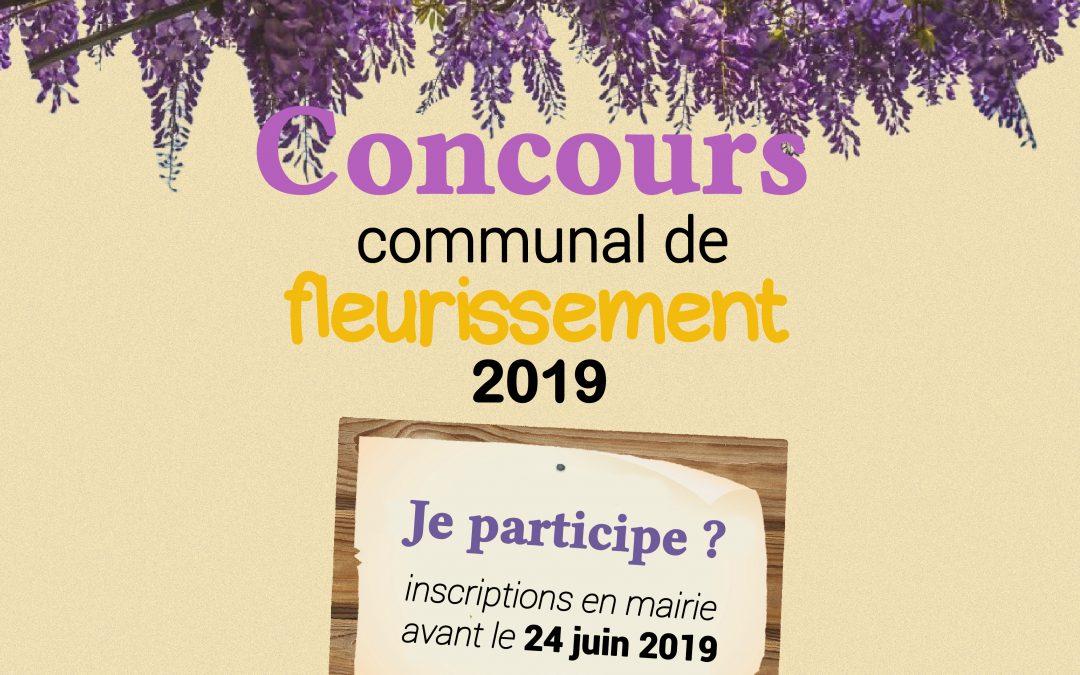 Concours communal de fleurissement 2019
