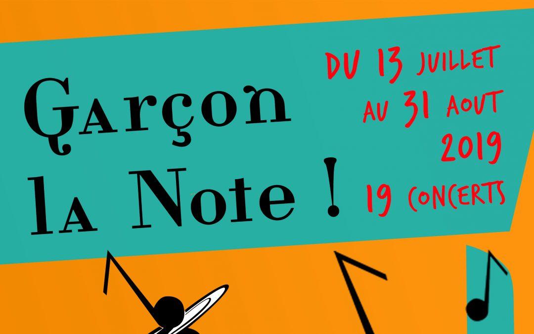 Concert du groupe «Castor Cravate» à l'occasion du festival «Garçon la Note»