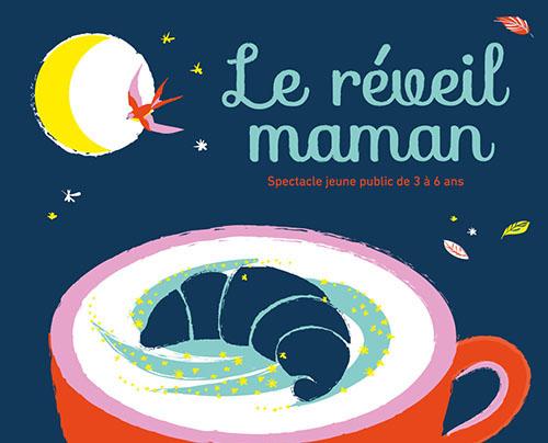 Spectacle «Le réveil maman», de Jérôme Aubineau et Basile Gahon