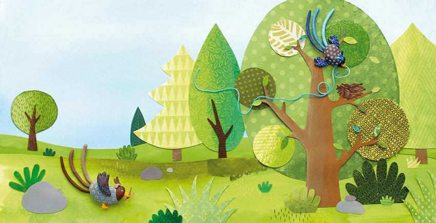 Exposition «1 000 brindilles, un nid…pour une famille !», de «l'Atelier Imagier Vagabond»