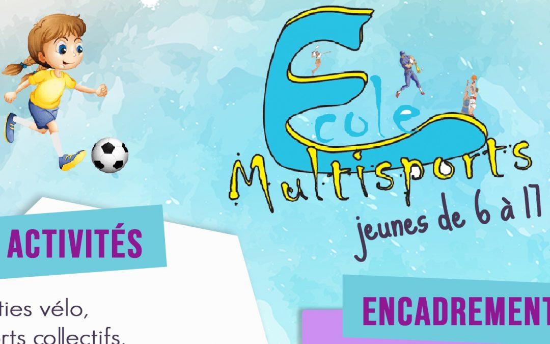 Ouverture des réservations à l'école multisports !