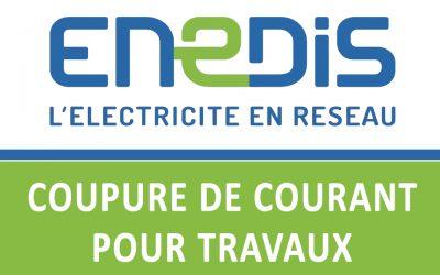 Coupures d'électricité sur Fourchambault, 9 août 2021