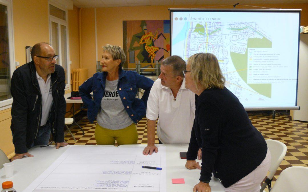 Atelier avec la population pour la modernisation du quartier de la Brasserie