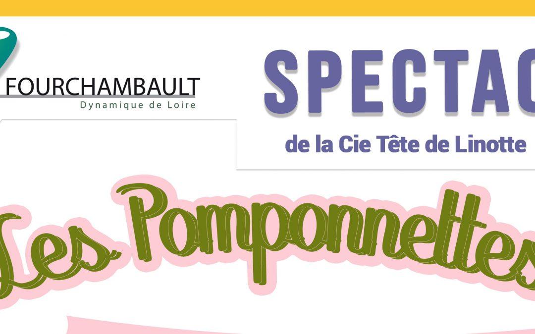 Spectacle «Les Pomponnettes», de la Cie «Tête de Linotte» – 4 mars 2020 – Maison du Peuple
