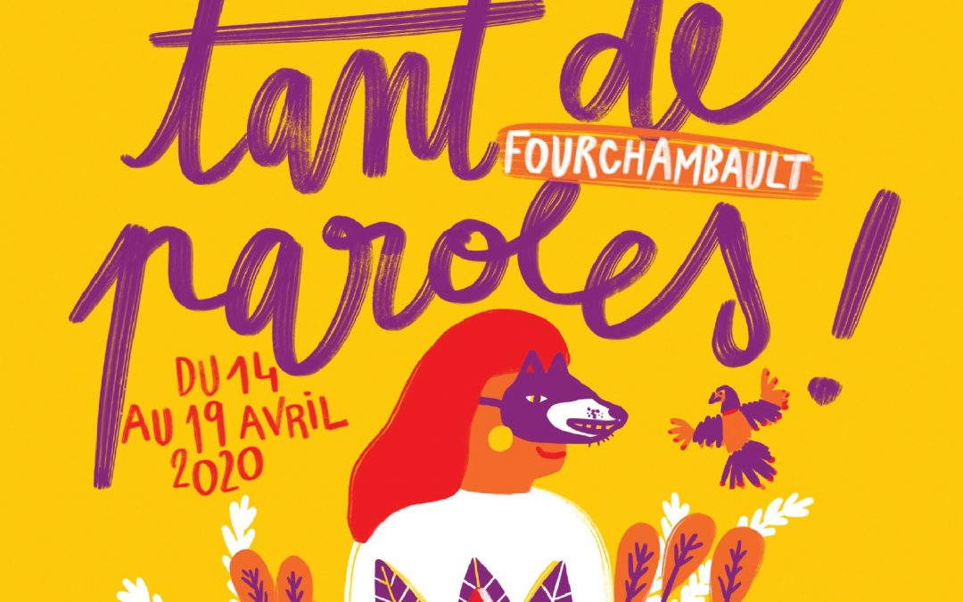 Découvrez l'avant-programme de la 11ème édition du festival Tant de Paroles, du 14 au 19 avril 2020 !
