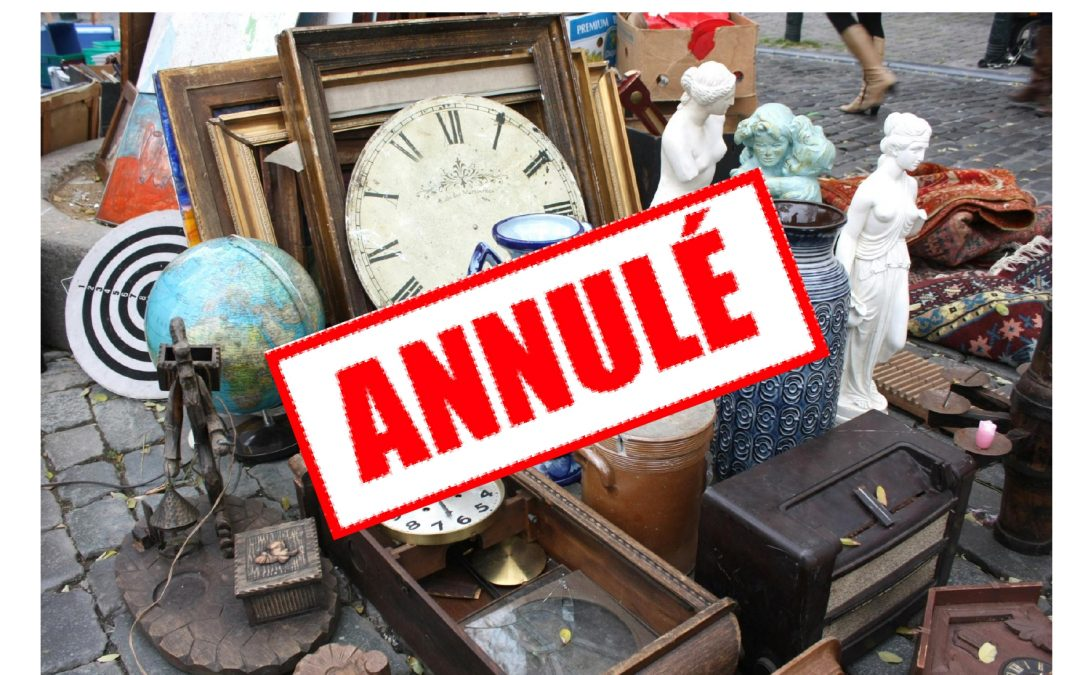 Brocante de l'association APEER