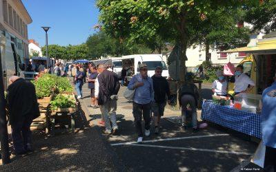 Réouverture complète du marché dominical de Fourchambault, à partir du dimanche 24 mai 2020