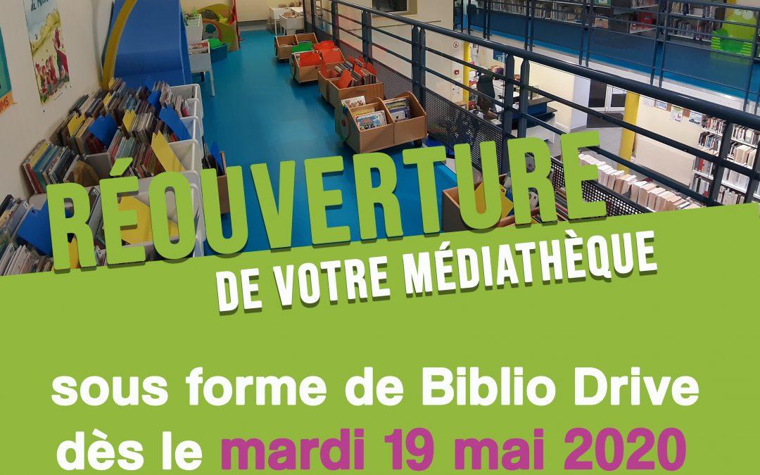 La médiathèque de Fourchambault lance son Biblio Drive !