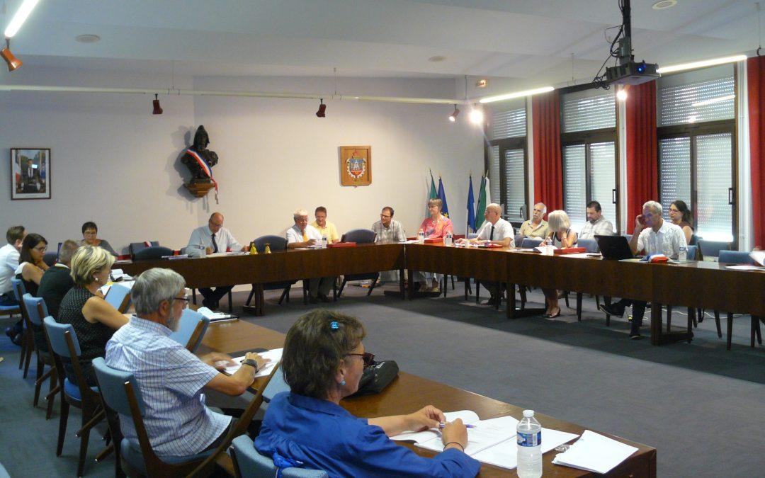 Présentation de la nouvelle équipe municipale, le 25 juin 2020
