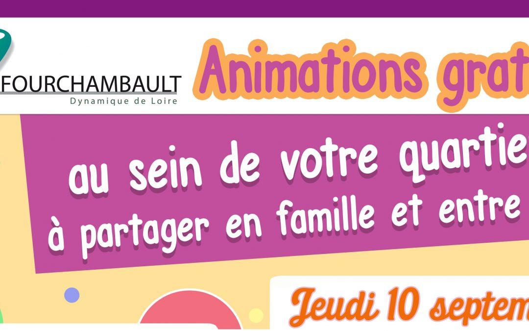 Animation au sein des quartiers «la médiathèque vient à votre rencontre…» – jeudi 27 août 2020, à partir de 17h30