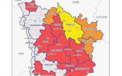 Restriction d'eau dans la Nièvre : arrêté préfectoral en vigueur au 10 août 2020