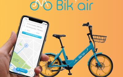 Bik'Air : des vélos électriques en libre service à Fourchambault, dès le lundi 18 janvier 2021 !