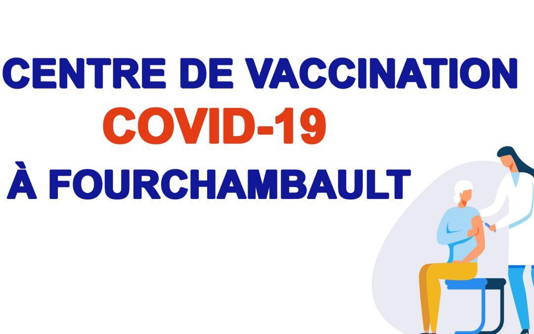 Centre de vaccination de Fourchambault (Covid-19) : possibilité de se faire vacciner sans rendez-vous en fin de journée !