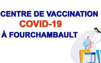 Centre de vaccination Covid-19 de Fourchambault : les doses jusqu'à la mi-mai ont toutes été attribuées !