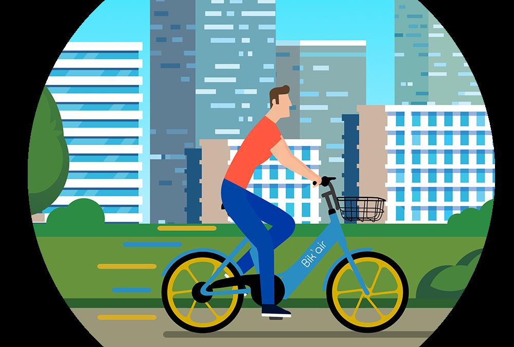 L'utilisation des vélos électriques Bik'Air pas à pas
