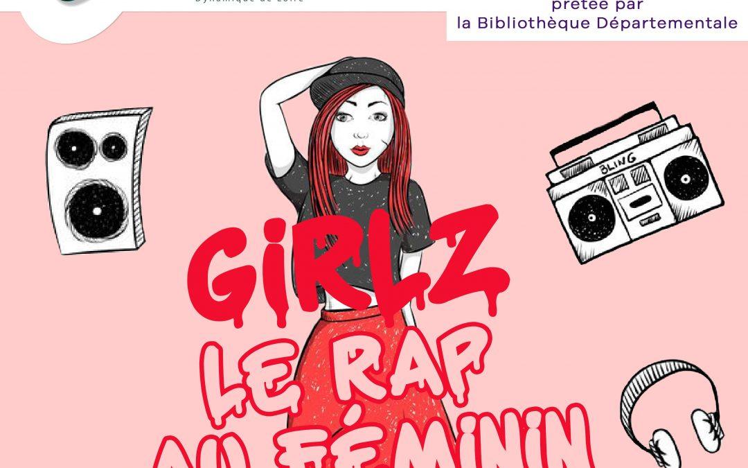 Exposition « Girlz, le rap au féminin » – du 31 mars au 27 avril 2021 – Médiathèque de Fourchambault