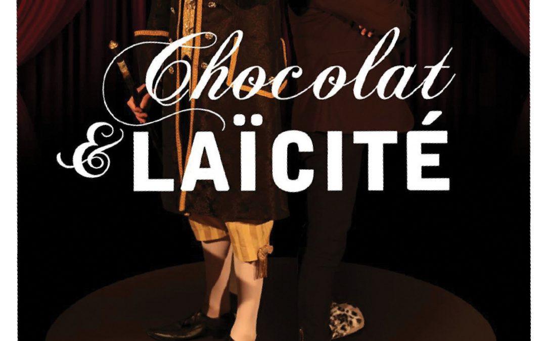 2ème séance : Spectacle «Chocolat et Laïcité» de la compagnie «Va Bene» – jeudi 26 août 2021, à 17h30