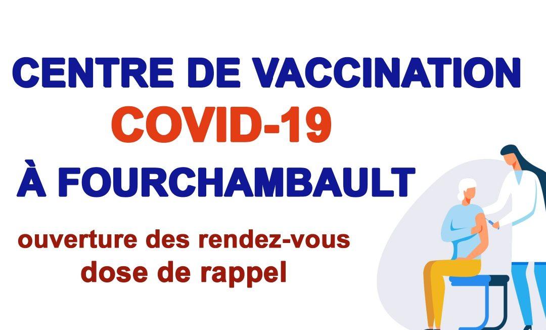 Vaccination contre la Covid-19 : une dose de rappel pour les personnes de 65 ans et plus